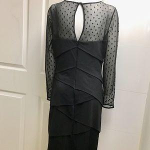 White House Black Market Dresses - White House Black market White black dress size 12